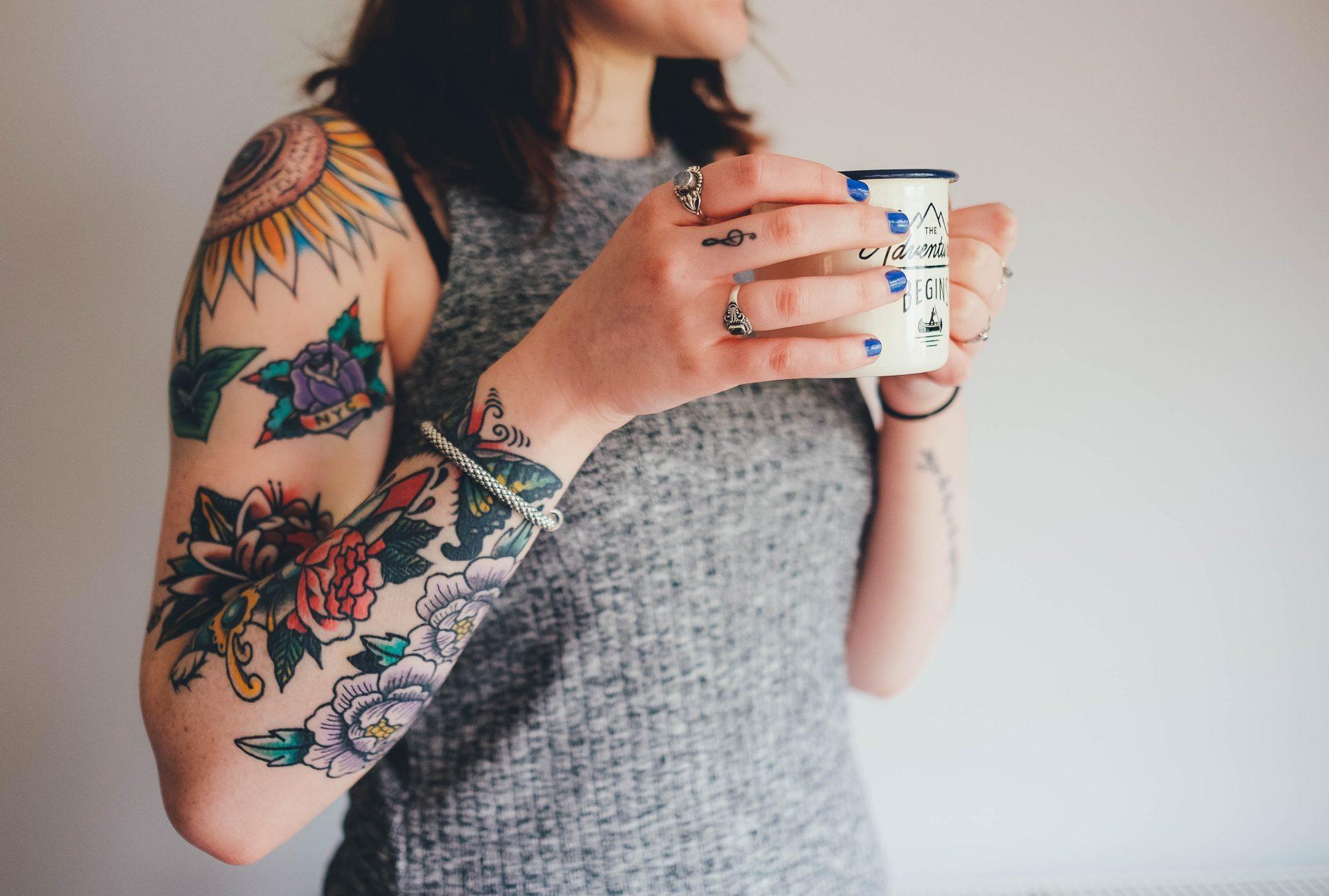 Tattoo Vorbereitung - Dynamite